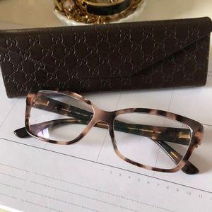 Gucci opthalmic frames!